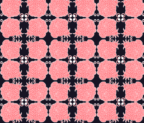 Urban girl /  rose fabric by paragonstudios on Spoonflower - custom fabric