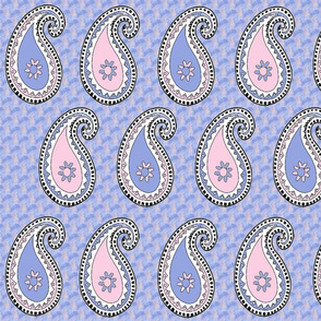 Pastel Paisley Fat Quarter