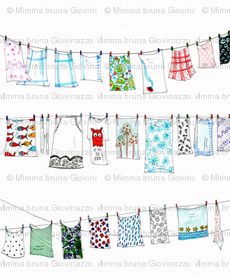metafabric for laundry drawstring bag