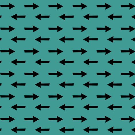 Small Arrows fabric by pond_ripple on Spoonflower - custom fabric