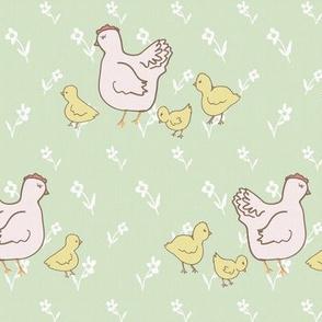 Sweet Little Hen