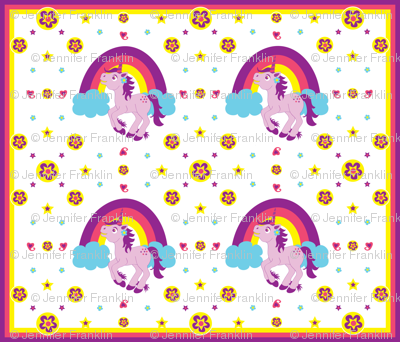 Purple Unicorn (Medium)
