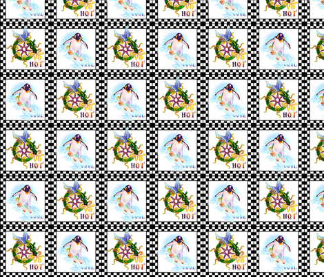 ©2011 Hot Cool fabric by glimmericks on Spoonflower - custom fabric