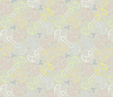 ©2011 Bird Motif fabric by glimmericks on Spoonflower - custom fabric