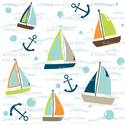 Sailboats - In The Land of Boys