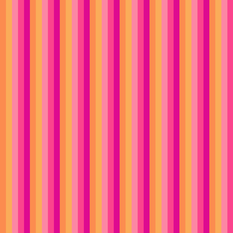 Popbi! - Sugarbaby - Mini Striped - © PinkSodaPop 4ComputerHeaven.com  fabric by pinksodapop on Spoonflower - custom fabric