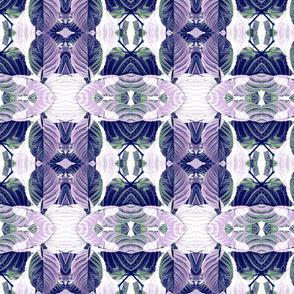 Purple Hydrangea Leaf