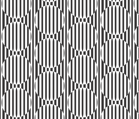 Linear Confusion - vertical fabric by majobv on Spoonflower - custom fabric