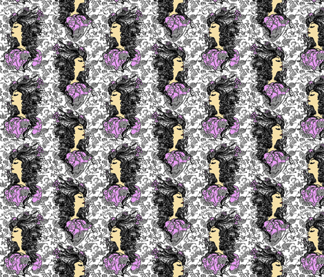 Thumbelina fabric by kdl on Spoonflower - custom fabric