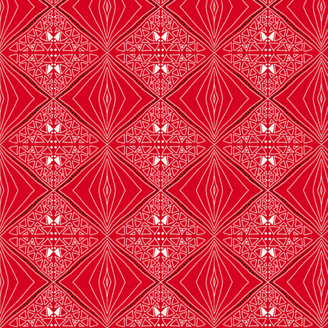 Upsy diamonds! fabric by su_g on Spoonflower - custom fabric