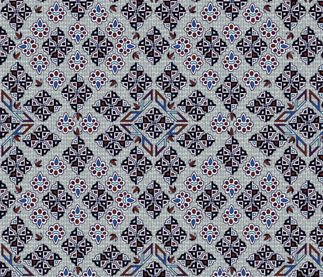 ©2011  Tribal - Patriot fabric by glimmericks on Spoonflower - custom fabric