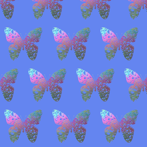 Flutter bye  fabric by su_g on Spoonflower - custom fabric