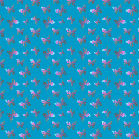 Flutter bye 2 small fabric by su_g on Spoonflower - custom fabric