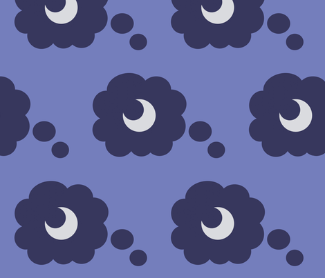 Princess Luna fabric by fabric_brony on Spoonflower - custom fabric
