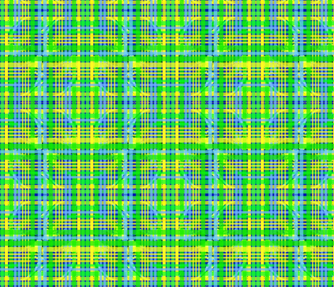 Curvy Plaid fabric by robin_rice on Spoonflower - custom fabric