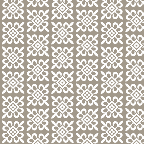 Ornamental Ornament - earth fabric by andibird on Spoonflower - custom fabric