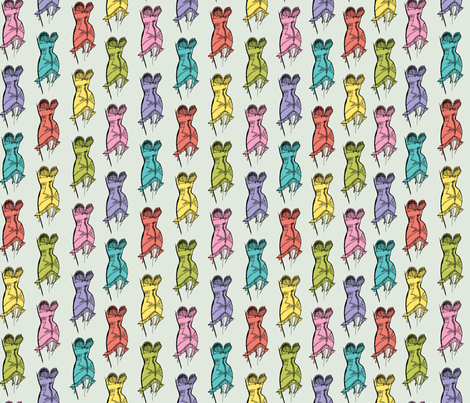 Girdle Goodness fabric by andibird on Spoonflower - custom fabric