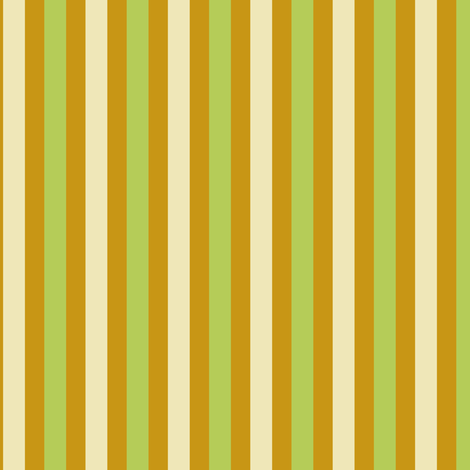 Goldenrod Avocado Stripe