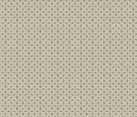 ©2011 chainmail-wheat fabric by glimmericks on Spoonflower - custom fabric