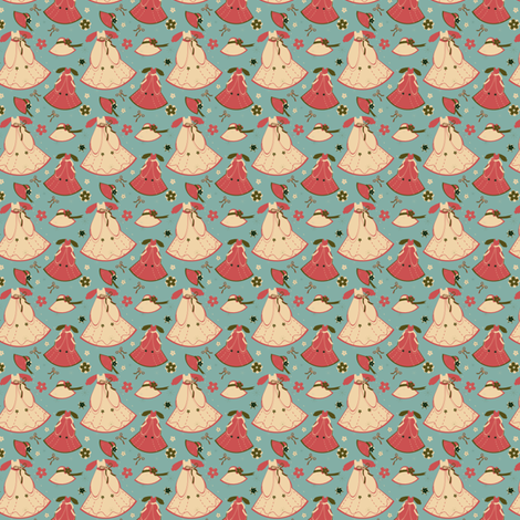 Cedar Chest Dresses fabric by eppiepeppercorn on Spoonflower - custom fabric