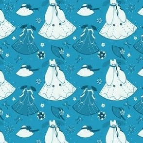 Blue & White Fantasy