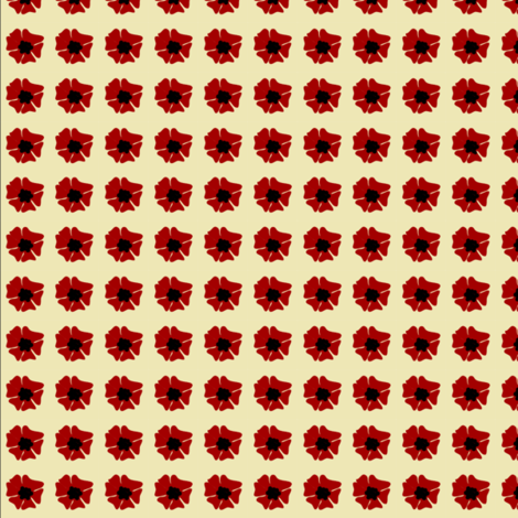 hibiscus fabric by krihem on Spoonflower - custom fabric