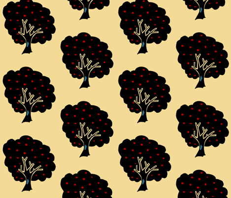 Apple Orchard fabric by pond_ripple on Spoonflower - custom fabric
