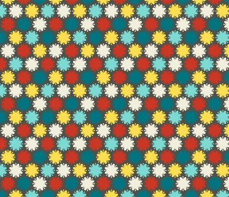 Fleurir: Dawn fabric by nadiahassan on Spoonflower - custom fabric