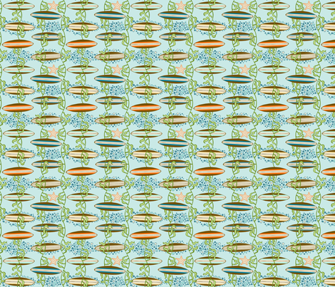 Boards_and_Kelp fabric by flyingtreestudios on Spoonflower - custom fabric