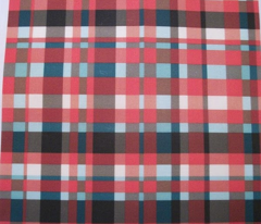Cherry Vanilla Plaid