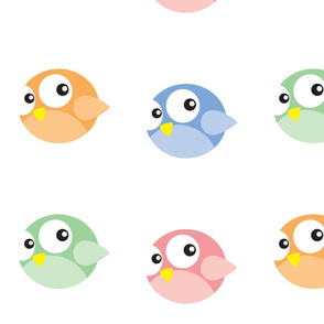 Round Birdies Go Dotty! (small)