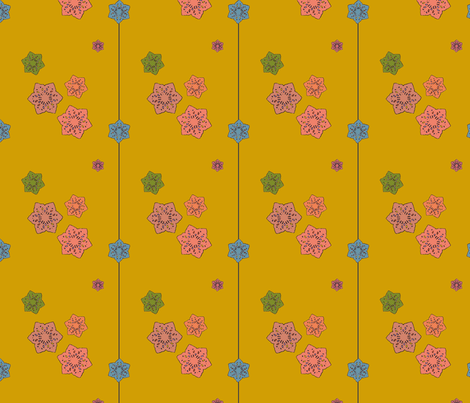 Susie's Afternoon fabric by david_kent_collections on Spoonflower - custom fabric