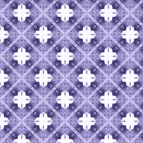 Brivec's Indigo Argyle fabric by siya on Spoonflower - custom fabric