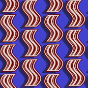 Bacon - Red on Blue