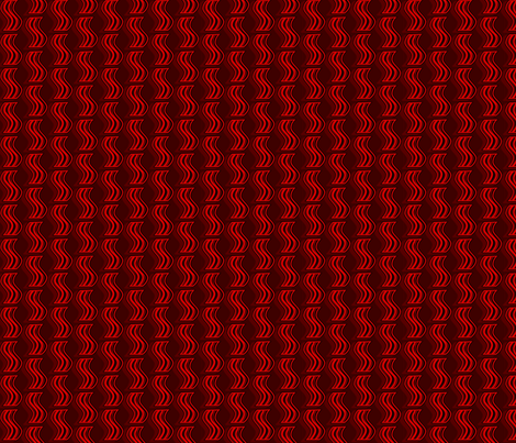 Bacon - Red on Dark Red fabric by elsielevelsup on Spoonflower - custom fabric