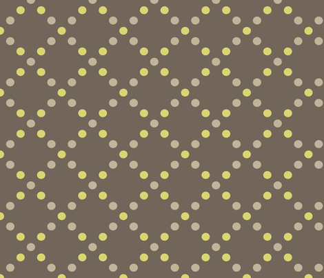Dots gold-grey fabric by kayajoy on Spoonflower - custom fabric