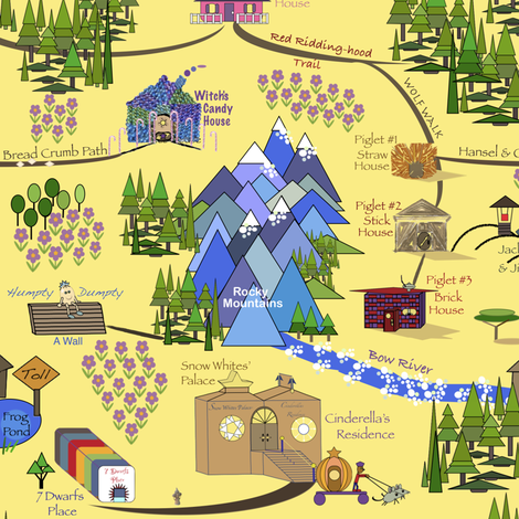 Fairy Tale Map 2