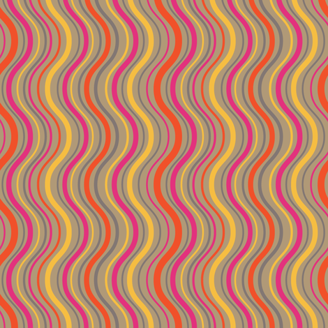 Wavy Stripes fabric by coloroncloth on Spoonflower - custom fabric