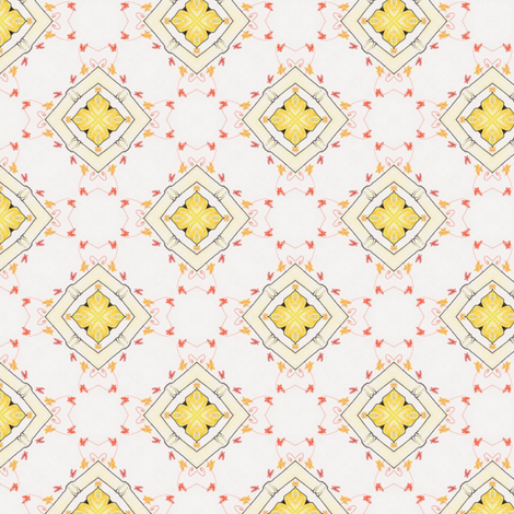 Togelian Tiles XI fabric by siya on Spoonflower - custom fabric
