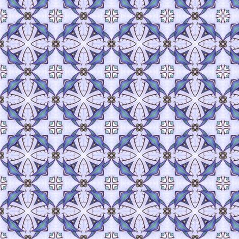 Blue Diamonds fabric by siya on Spoonflower - custom fabric