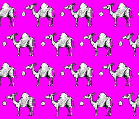 Camel Greetings fabric by taraput on Spoonflower - custom fabric
