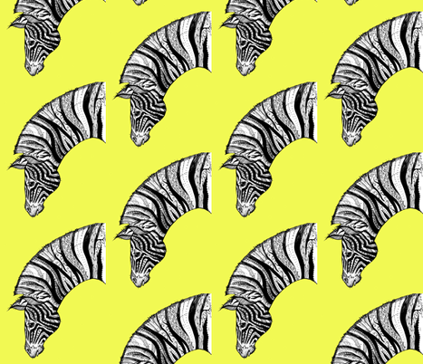 Zebra fabric by taraput on Spoonflower - custom fabric