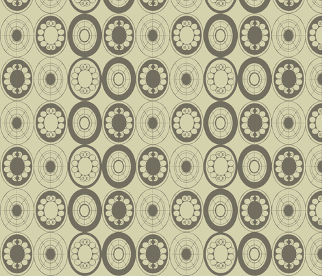 black-twill-circle fabric by cilla on Spoonflower - custom fabric
