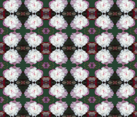 Peony Garden fabric by robin_rice on Spoonflower - custom fabric