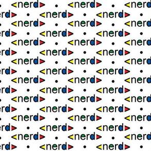 Nerd fabric design