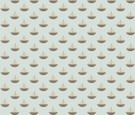 Boats fabric by creativebrenda on Spoonflower - custom fabric