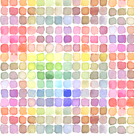 ColorDots fabric by peagreengirl on Spoonflower - custom fabric