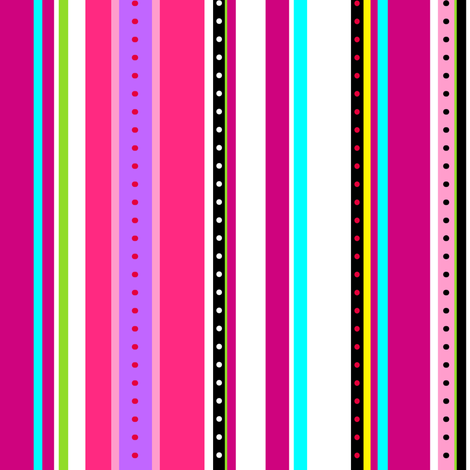 Coordinate Stripes 3 fabric by jadegordon on Spoonflower - custom fabric
