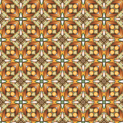 Poliviel's Tiles fabric by siya on Spoonflower - custom fabric