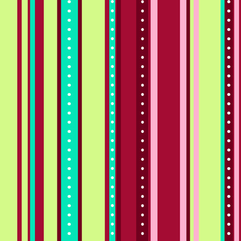 Coordinate Stripes 5 fabric by jadegordon on Spoonflower - custom fabric